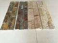 Natural culture stone in slate