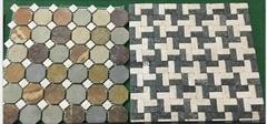 natural mosaic slate tile