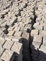 Natural slate stone net paste for garden