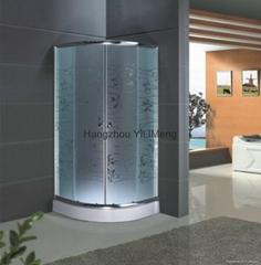 Acid Tempered Glass Shower Cabin