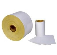 coated adhesive paper
