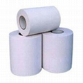 wood free adhesive paper with glassine