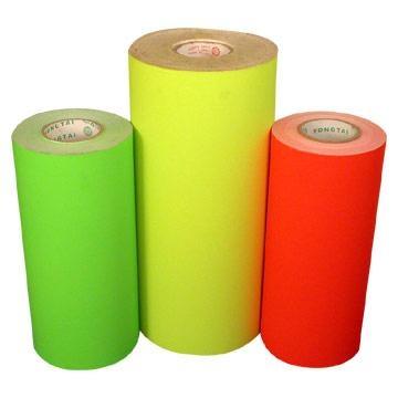 self adhesive fluorescent paper 1