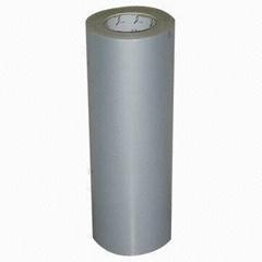 self adhesive matte silver pet 23 micron