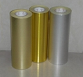 self adhesive golden pet 23 micron 2
