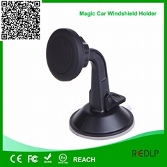 auto car cell phone holder universal magic magnetic car phone mount holder