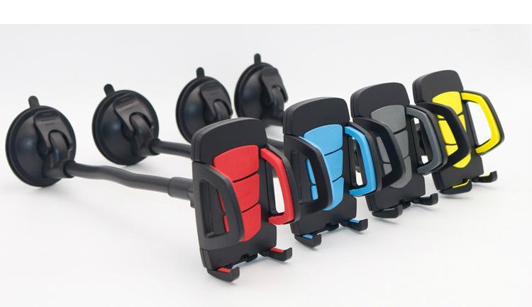 Flexible Long Hose Car Phone Bracket Holder Car Phone Mount For GPS Navigation 2