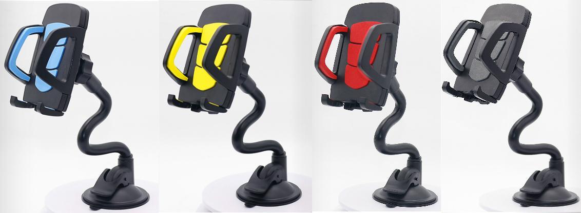 Flexible Long Hose Car Phone Bracket Holder Car Phone Mount For GPS Navigation 5