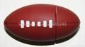 8gb real memory gift silicone football U