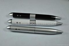 8gb laser Pen U disk AD pen u disk gift pen laser usb drive