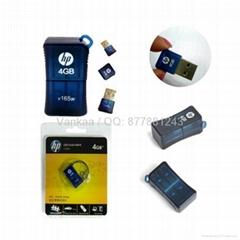 4gb Mini usb disk hp v165w usb flash drives
