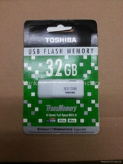 hot sell 8gb Toshiba usb pen drive, flash memory chip, U disk, USB drive, usb