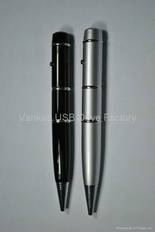 4gb广告圆珠笔U盘 水晶触控笔U盘 3