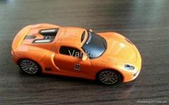 4gb Funny car usb flash drive toy Porsche car usb drive gift usb