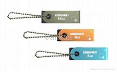 16gb Kingmax usb flash memory, Round drive, rectangle usb,swivel usb pen drive