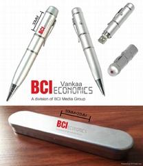 factory hotsell 8GB USB pen Drive gift pen u disk custom logo