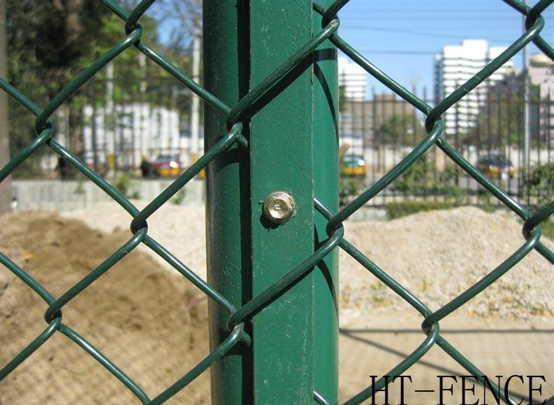 Chain link fence diamond wire mesh ht china