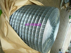 Rolled welded mesh