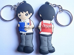 Hot Sale Promotion Soft 3D PVC Keychain