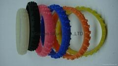 Fashion Funny Road Tire Silicone Wristband
