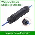 RJ45 Waterproof connector shielded