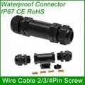 IP67 Waterproof Connector Electrical