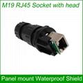 M19 RJ45 waterproof Connector Outdoor AP
