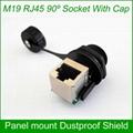 M19 RJ45 Waterproof Dustproof Connector