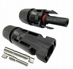 MC4 Male/Female Solar Panel cable Connectors, waterproof IP67