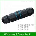IP67 Waterproof 2 Pin to 8 Pin
