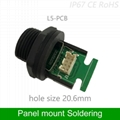 panel mount RJ45 transformer female to