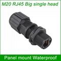 panel mount M20 RJ45 AP box fixed