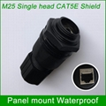 Outdoor waterproof socket IP67 LAN