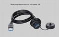 usb3.0 panel mount socket water resistant IP 67 connector 5