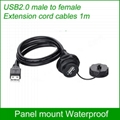 USB2.0 Waterproof connector Panel Mount