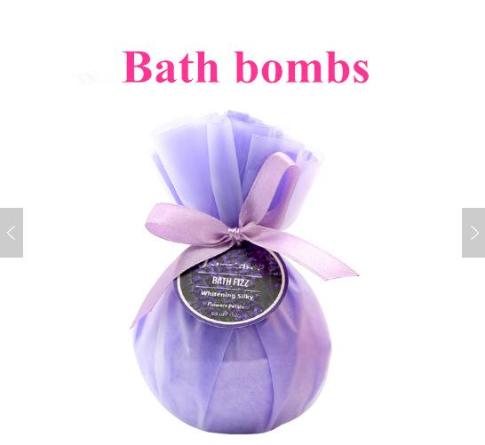 Ball Shape and All  Natural Ingredients Bath Bombs Accept Logo Bath Fizzy  Bombs 1