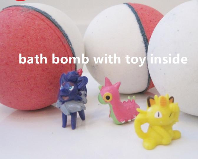High Quality Private Label For Kids Bath Bombs with toy inside surprise gift  1