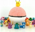 High Quality Private Label For Kids Bath Bombs with toy inside surprise gift  2