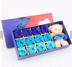 OEM Cheap Rose Soap Flower with Naturel Fragrance Decoration Party Gift