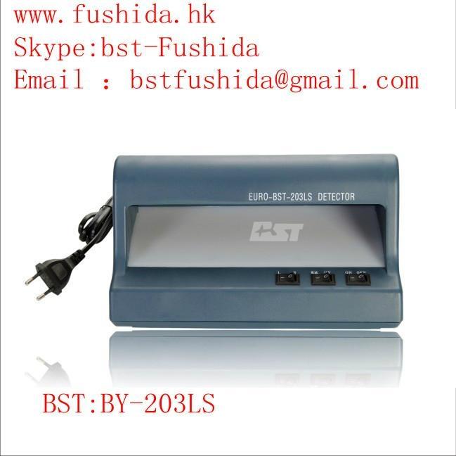 BST counterfeit euro detector,cash detector,money detector,banknote detector  1