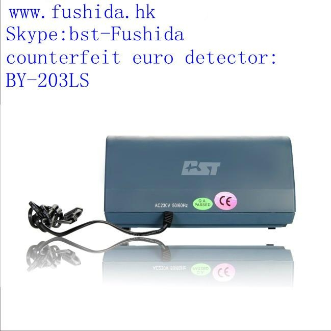 BST counterfeit euro detector,cash detector,money detector,banknote detector  2