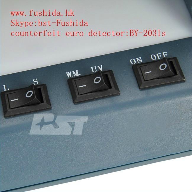BST counterfeit euro detector,cash detector,money detector,banknote detector  4