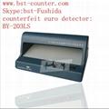 BST counterfeit euro detector,cash detector,money detector,banknote detector  5