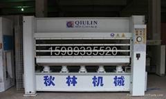 秋林120噸三層熱壓機