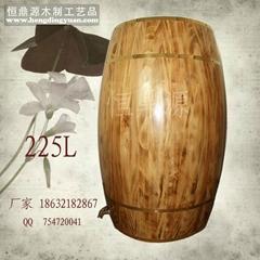 Wooden barrels factory / barrel / wooden