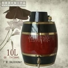 The 10L barrel / wooden barrels / wooden cask