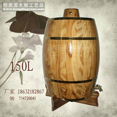 Barrel / wooden barrels / wood the tonneau / wood cask / wooden barrels 75L