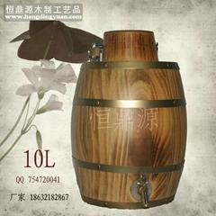 Hengding source the wooden cask Factory wooden barrels wholesale 10L