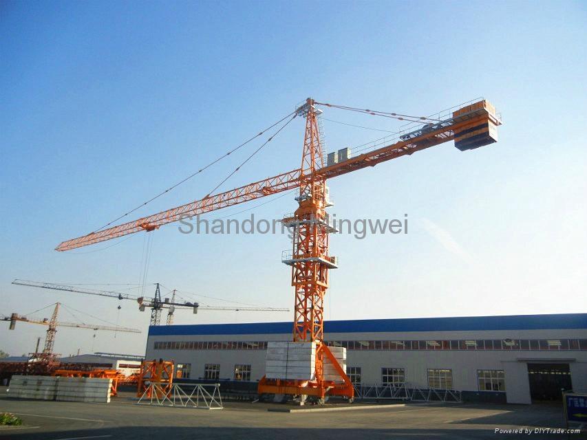 Mingwei 16t Mobile Tower Crane QTZ315 TC7040-16t