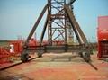 Mingwei 16t Mobile Tower Crane QTZ315 TC7040-16t 2